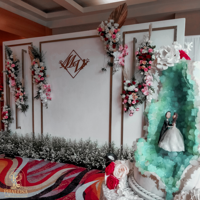 Wedding Of Melissa And Vendy by Phalosa Event Decoration & Table Setting - 009