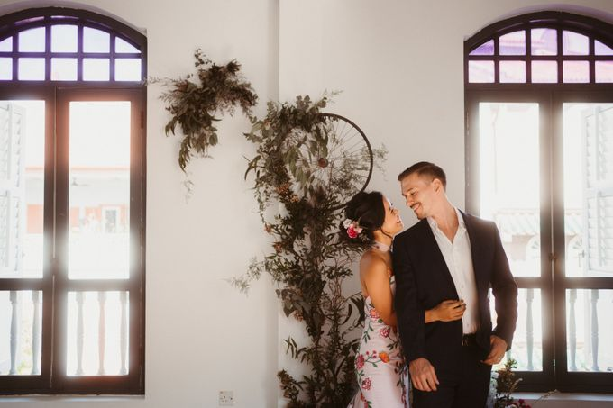 German-Peranakan Love Story by The Bloomish Eden - 005
