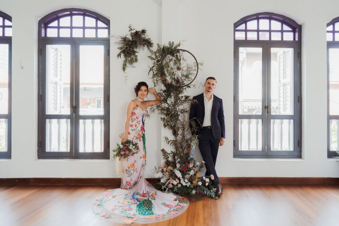 German-Peranakan Love Story by Arches & Co. - 001
