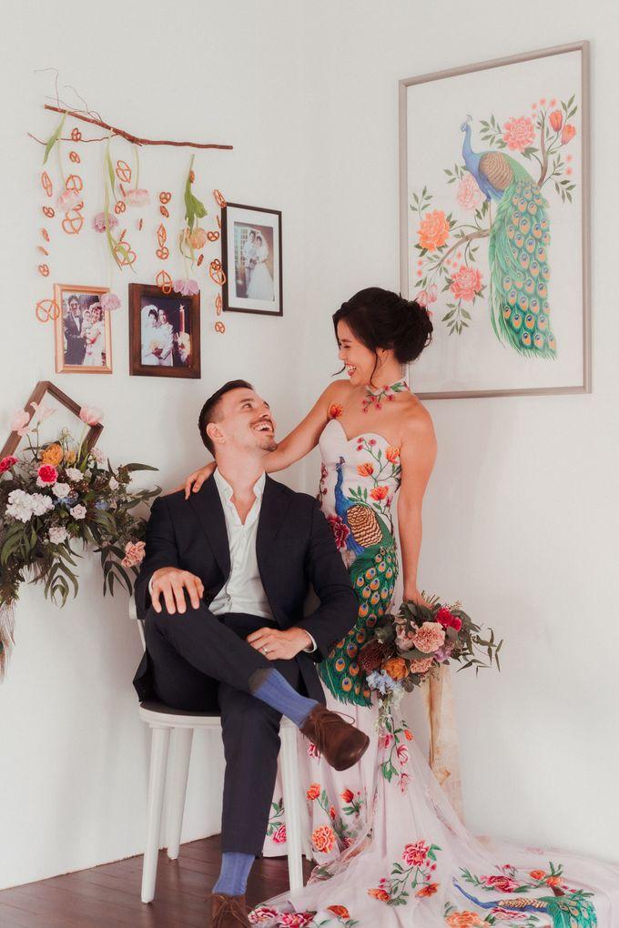 German-Peranakan Love Story by The Bloomish Eden - 014