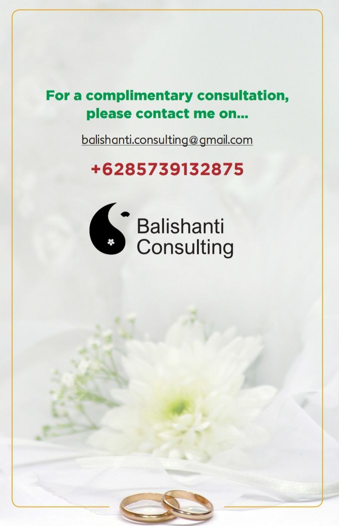 Basic information for bride & groom by Balishanti Consulting - 001