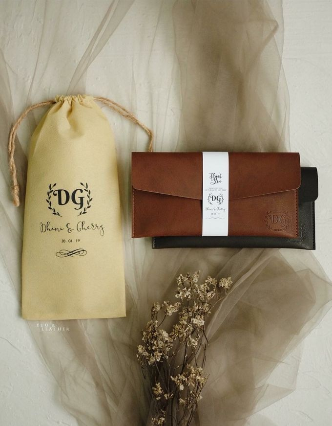 Dhini & Gerry Simple Wallet by Yuo And Leather - 002