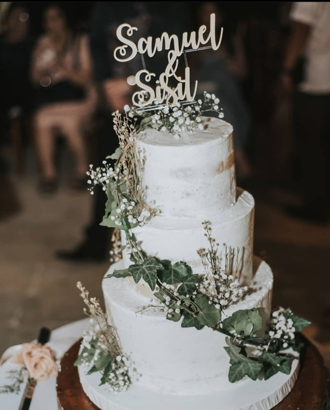 The Wedding Cake Of Samuel & Sisil by Moia Cake - 003