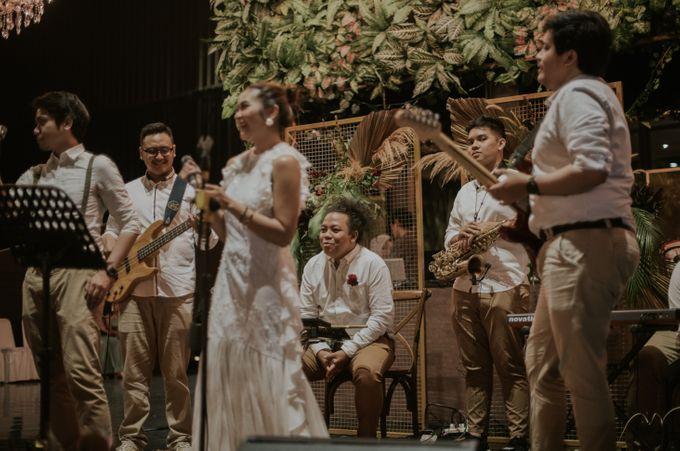 The wedding of Sheilla & Hafiz by HS Music Entertainment - 009