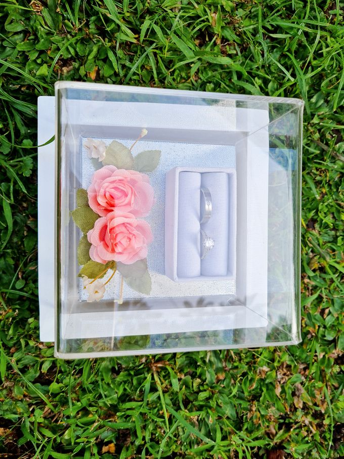 Rustic White Tray by House of Raline Wedding Hampers - 013