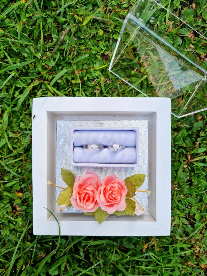 Rustic White Tray by House of Raline Wedding Hampers - 015