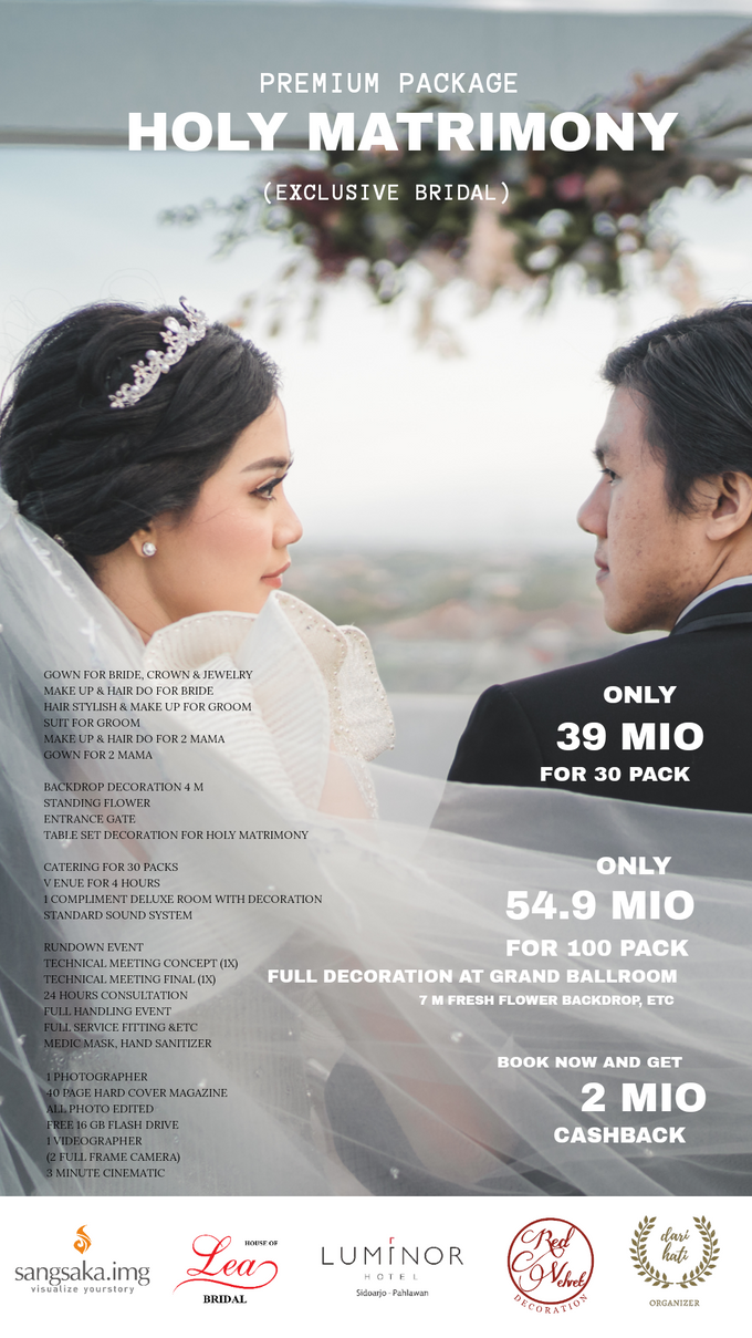 Intimate Akad/Holy Matrimony Wedding Package by Levios Planner - 002