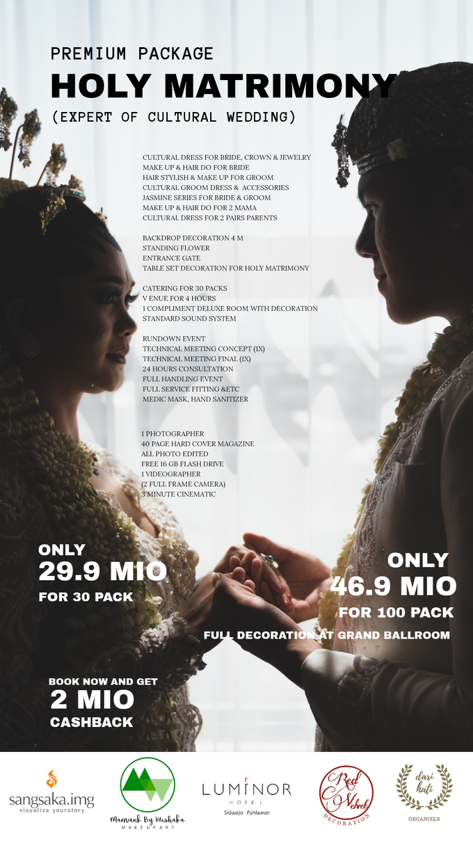 Intimate Akad/Holy Matrimony Wedding Package by Levios Planner - 001