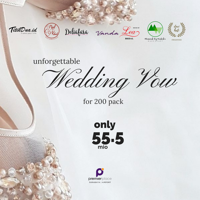 Unforgettable Wedding Vow Wedding Package by Levios Planner - 001
