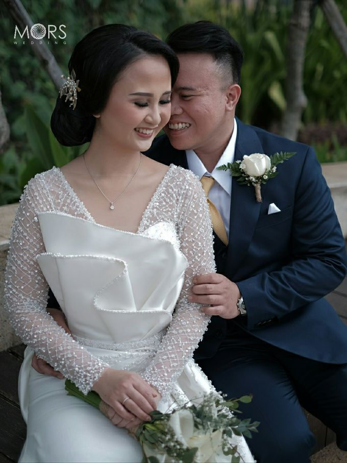 The Wedding of Amanda & Adrian by Raffles Jakarta - 012