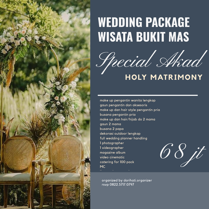 Wedding outdoor package Wisata Bukit Mas Surabaya by darihati.organizer - 001