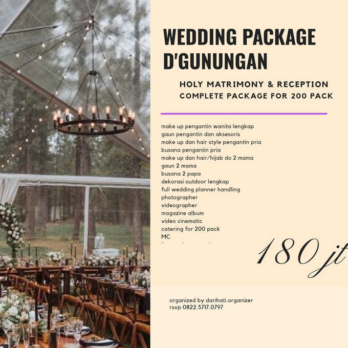 Wedding Outdoor Package by Levios Planner - 001