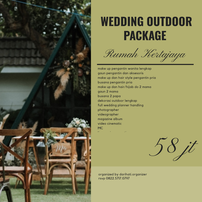 Wedding Outdoor Package Rumah Kertajaya by Levios Planner - 001