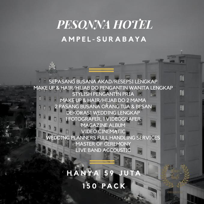 Intimate Wedding Package Pesonna Hotel Surabaya by Levios Planner - 001