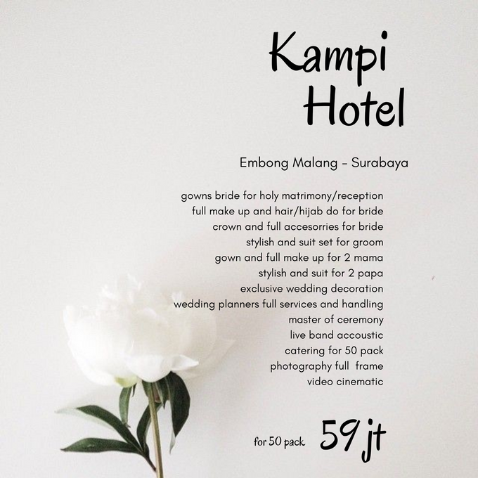 Intimate Wedding Package For Akad/Resepsi by Levios Planner - 001