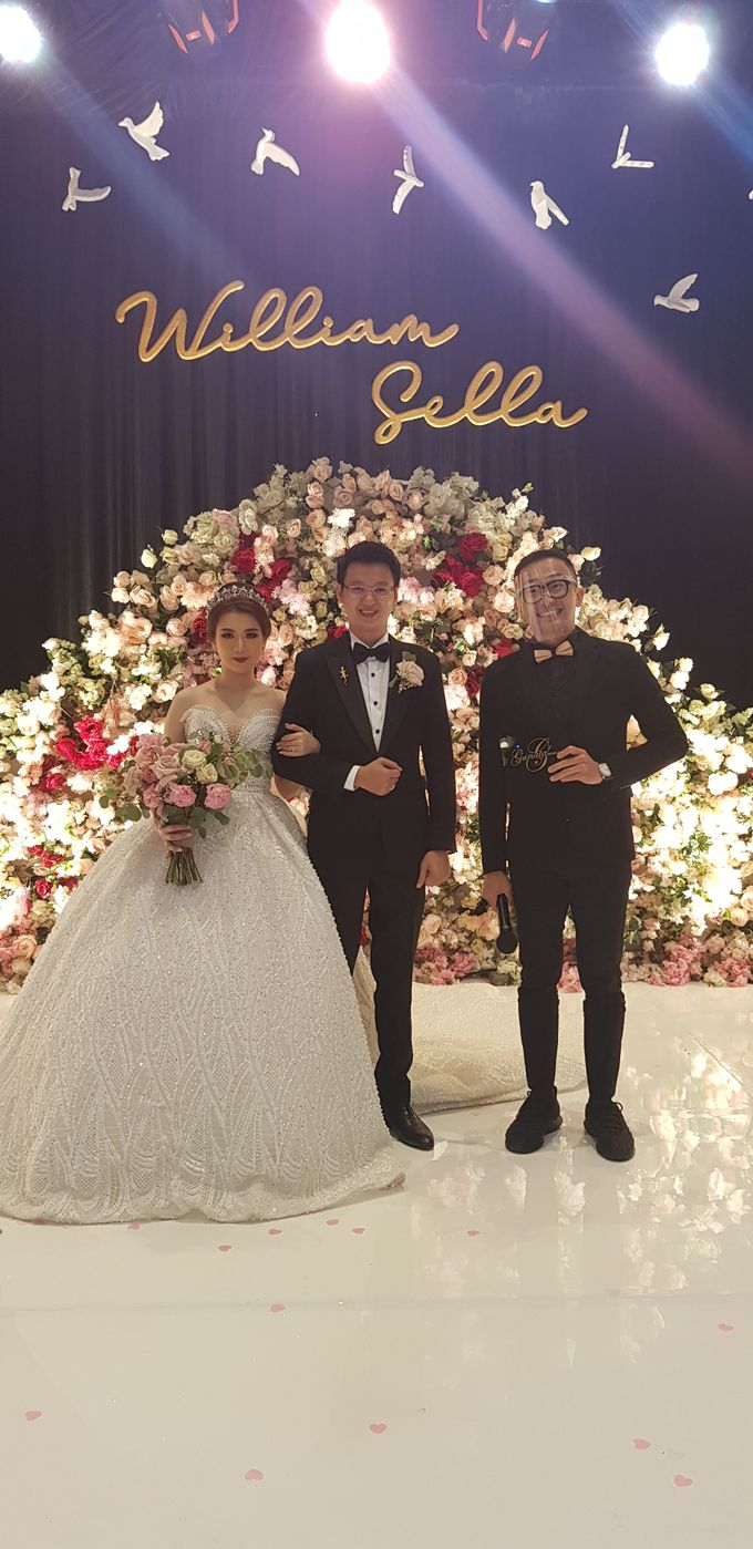 Wedding Of William & Sella by MC Samuel Halim - 004