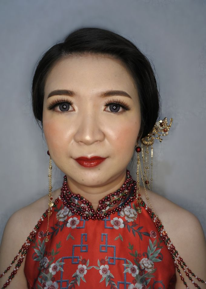 Sangjit of Ms. Herlina by Alexandra Makeup Artist - 001