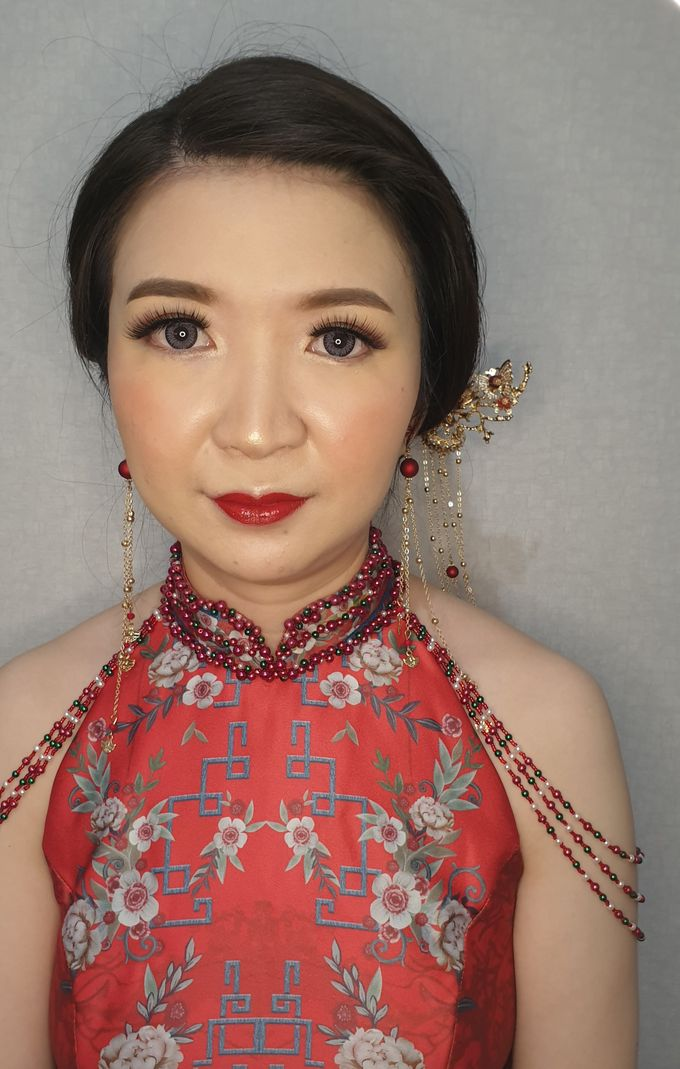 Sangjit of Ms. Herlina by Alexandra Makeup Artist - 002