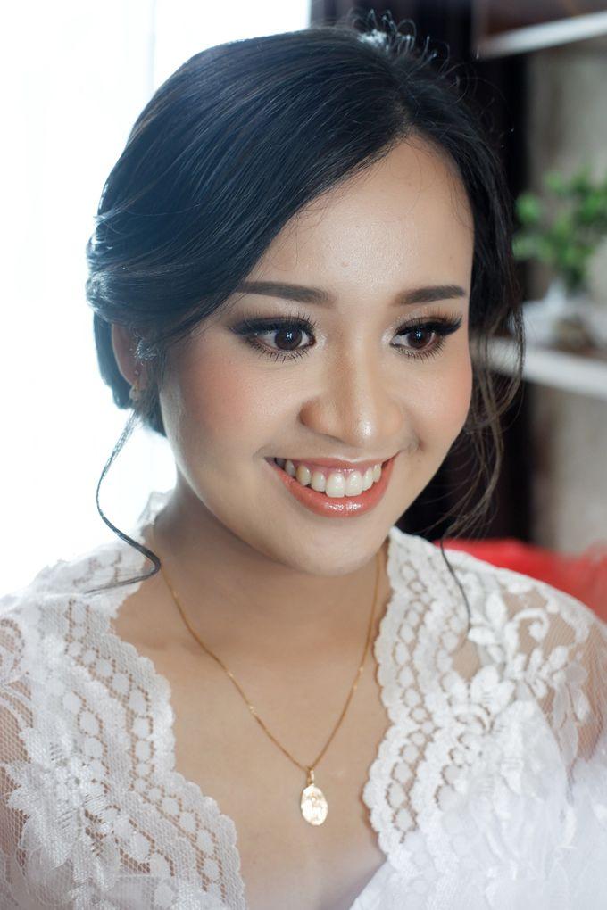 Holy Matrimony Makeup for Katarina by Nike Makeup & Hairdo - 010