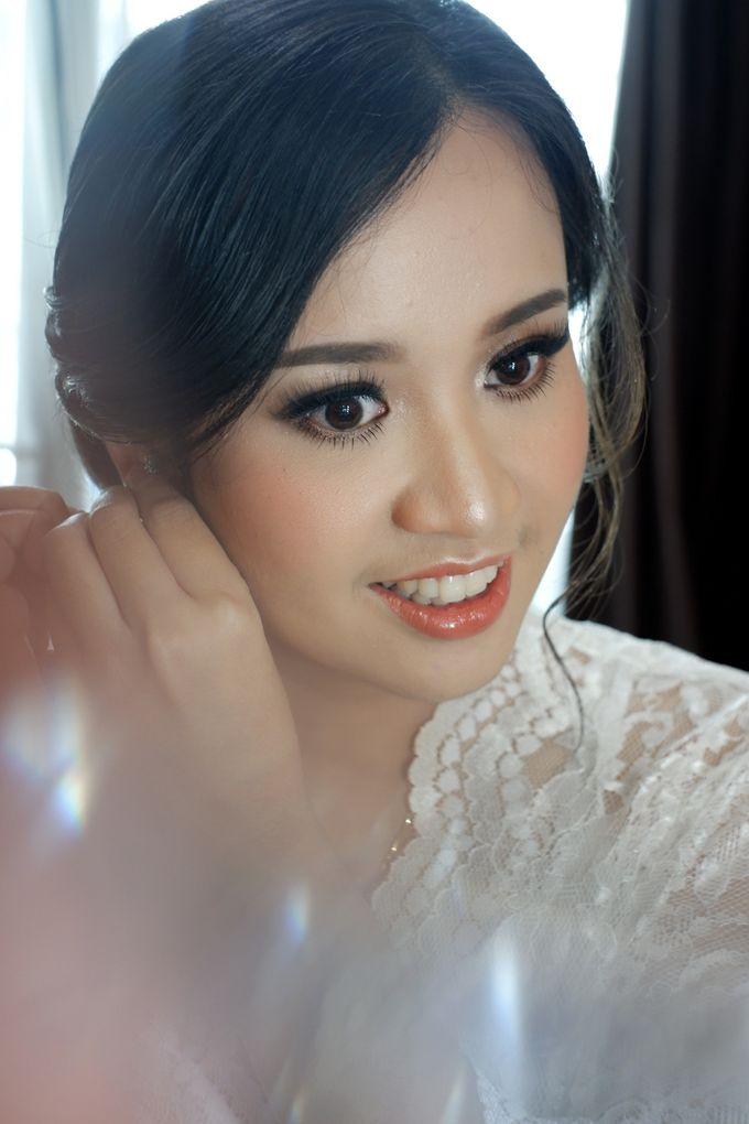Holy Matrimony Makeup for Katarina by Nike Makeup & Hairdo - 002