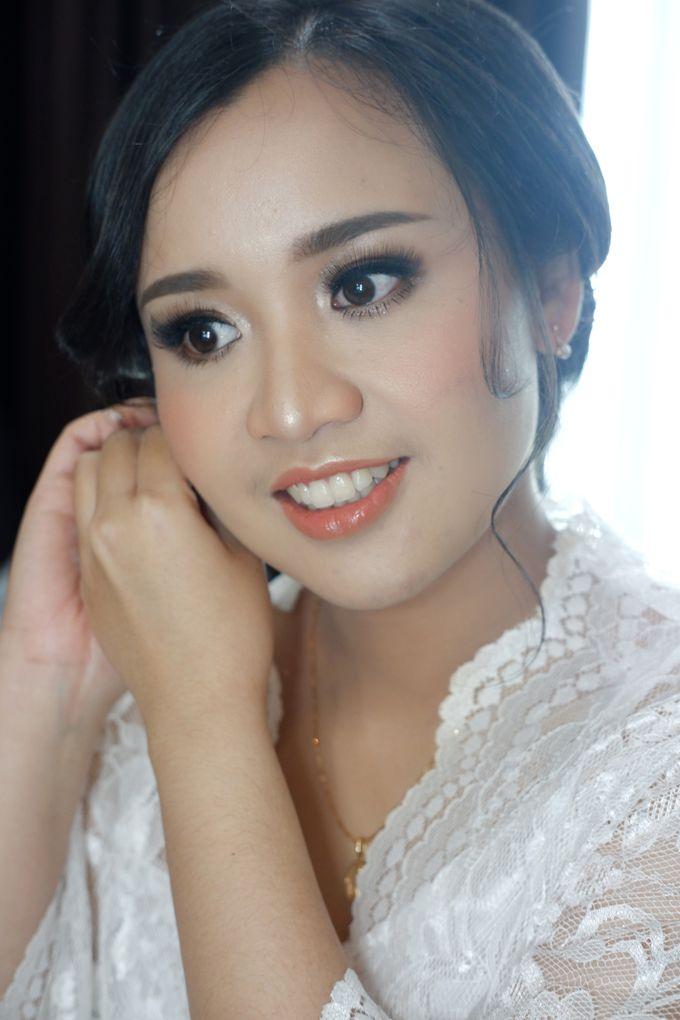 Holy Matrimony Makeup for Katarina by Nike Makeup & Hairdo - 001