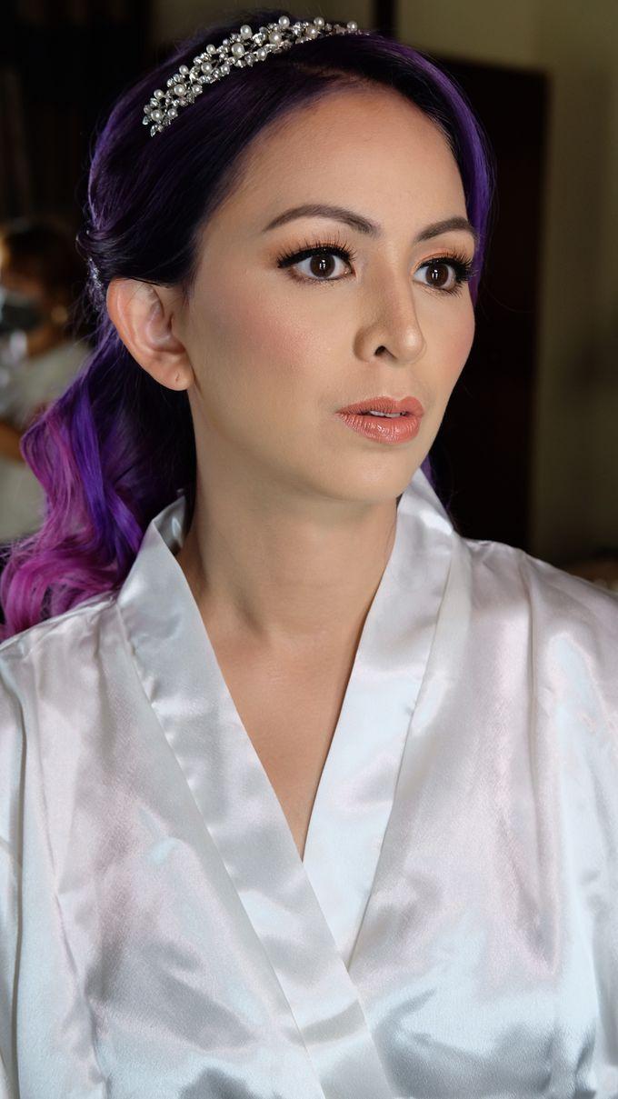 Bridal Makeup - Mrs. Flame Rozario by Junie Fang Makeup Artist - 005