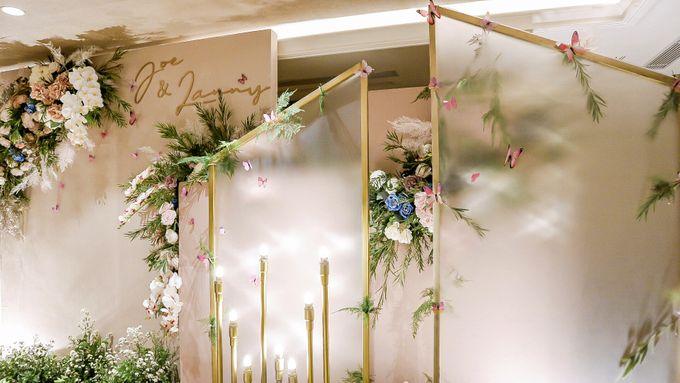 Joe & Lanny Intimate Wedding Decor by AYANA Midplaza JAKARTA - 001