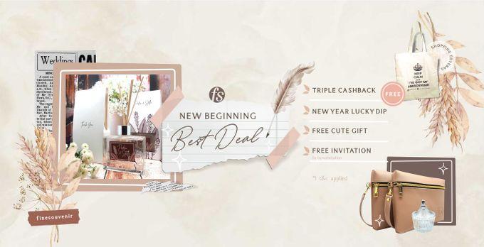 """Fine Souvenir """"New Beginning Best Deal"""" by Fine Souvenir - 001"""