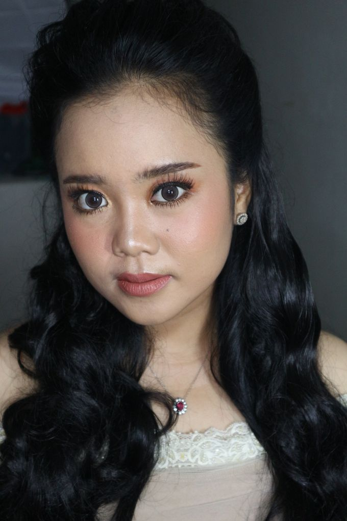 Reception Night Wedding Makeup by Hana Gloria MUA - 001