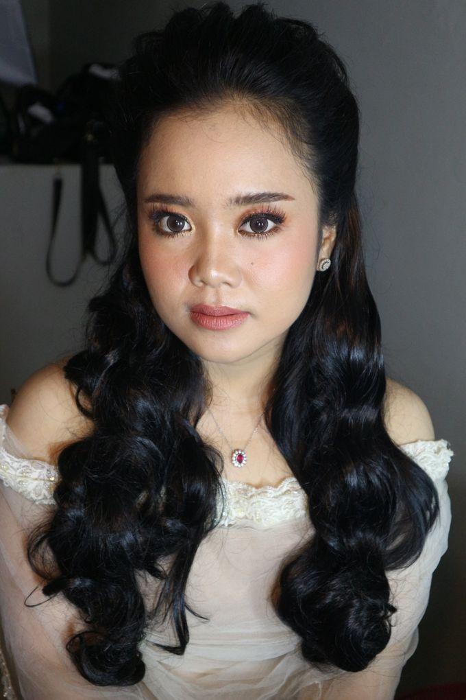 Reception Night Wedding Makeup by Hana Gloria MUA - 004
