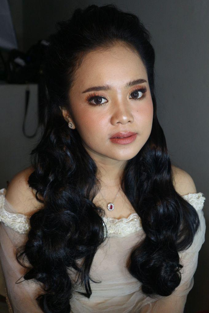 Reception Night Wedding Makeup by Hana Gloria MUA - 012