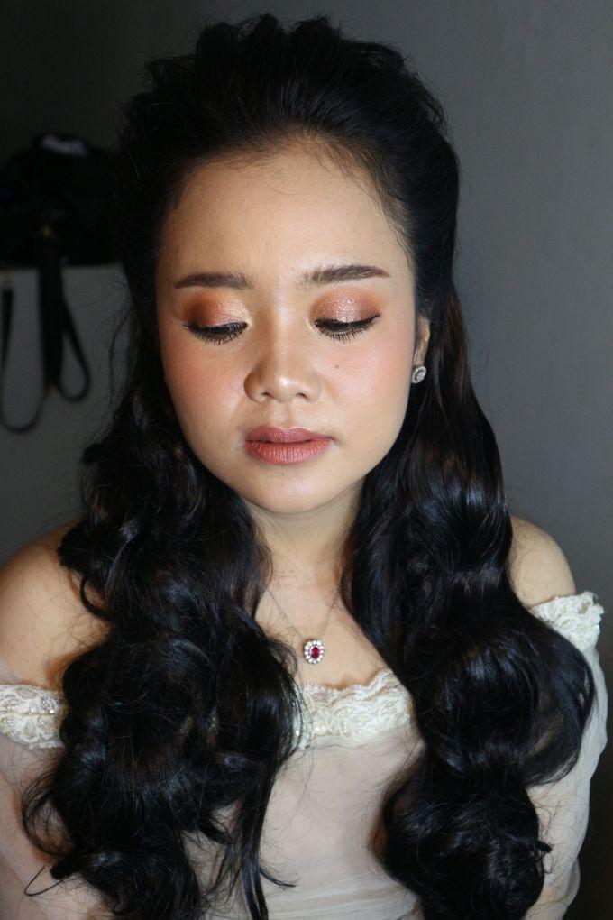 Reception Night Wedding Makeup by Hana Gloria MUA - 011
