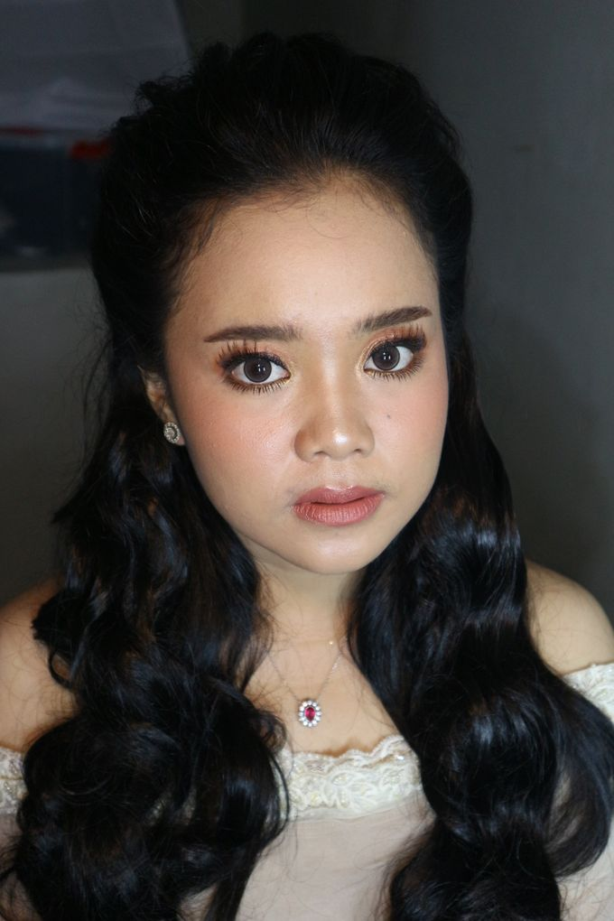 Reception Night Wedding Makeup by Hana Gloria MUA - 009