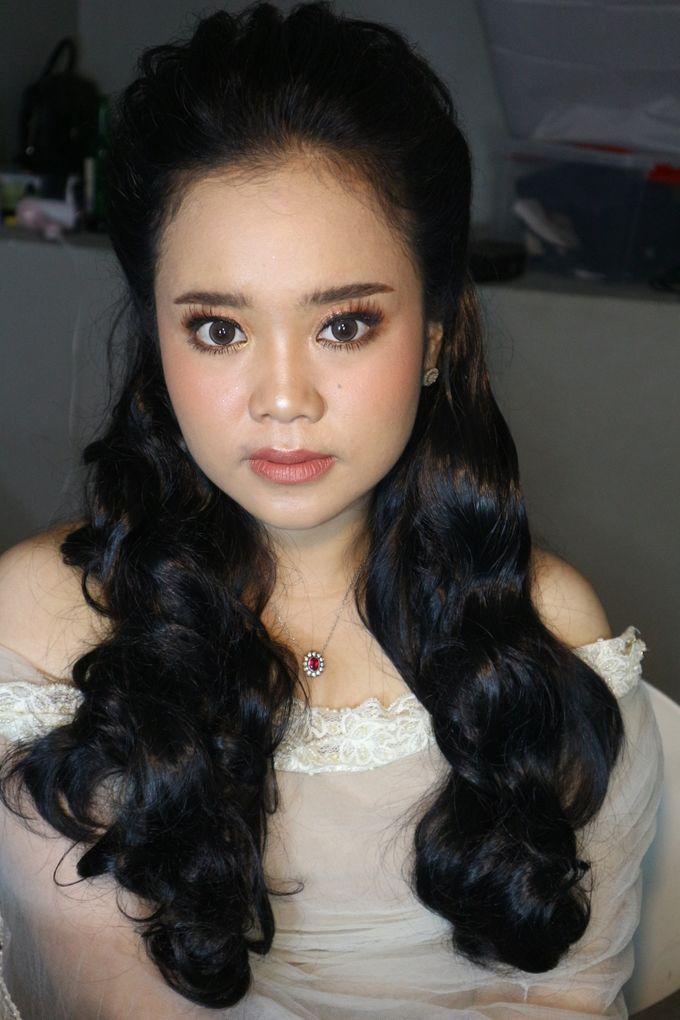 Reception Night Wedding Makeup by Hana Gloria MUA - 013