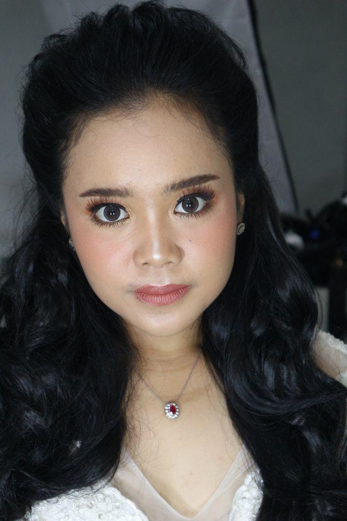 Reception Night Wedding Makeup by Hana Gloria MUA - 003