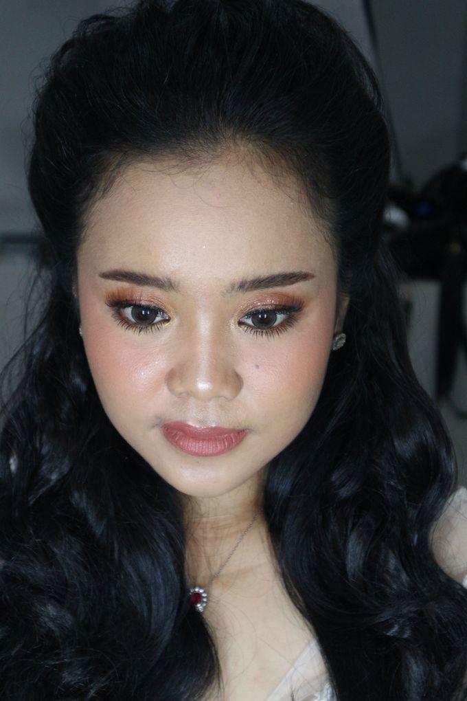Reception Night Wedding Makeup by Hana Gloria MUA - 006