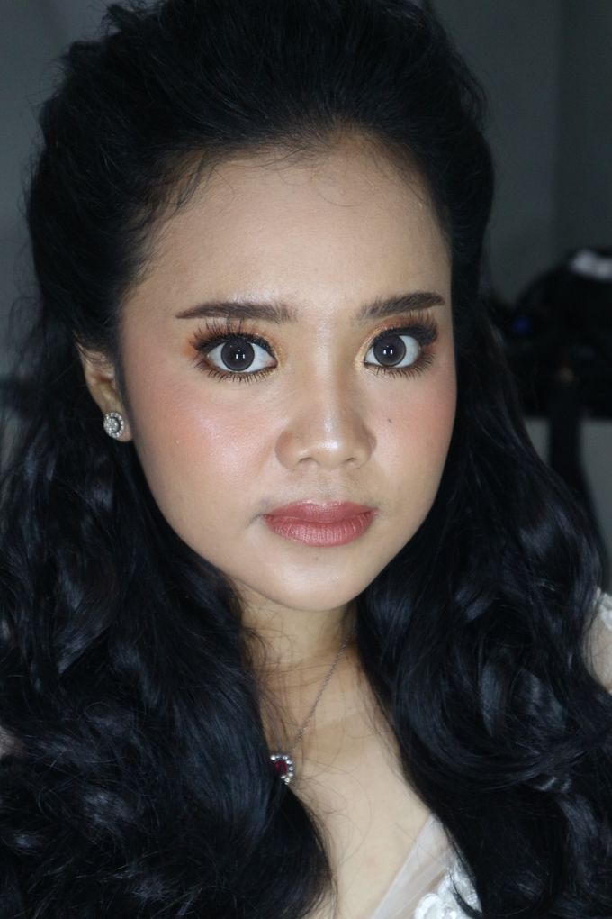 Reception Night Wedding Makeup by Hana Gloria MUA - 008