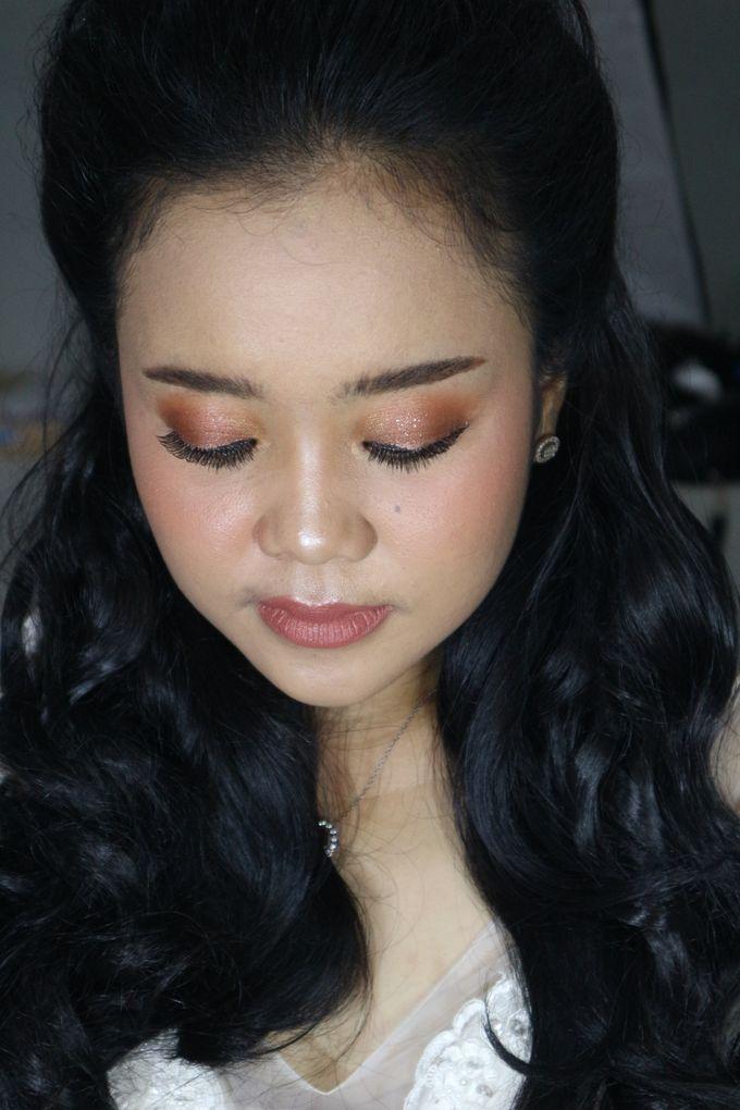 Reception Night Wedding Makeup by Hana Gloria MUA - 007