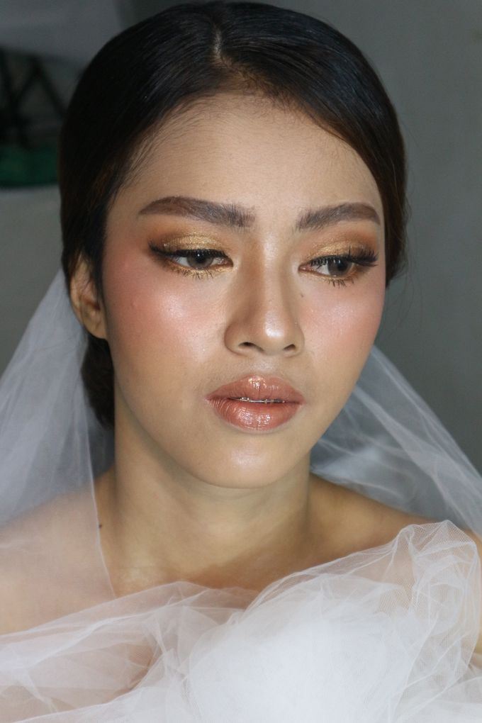 Classic Gold Tone For Holy Matrimony by Hana Gloria MUA - 004