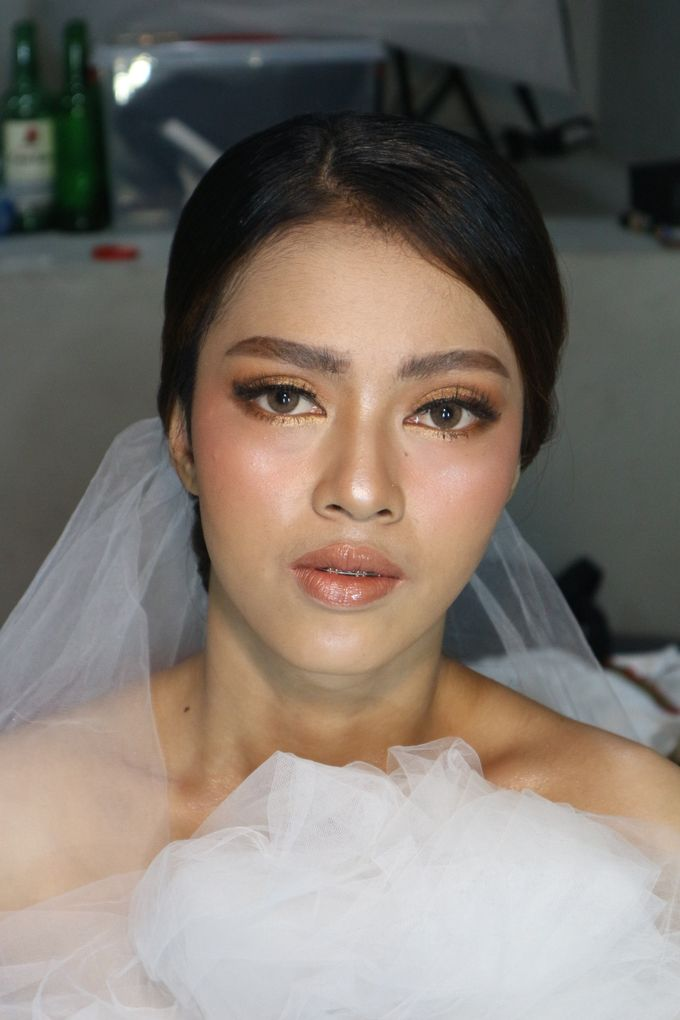 Classic Gold Tone For Holy Matrimony by Hana Gloria MUA - 007