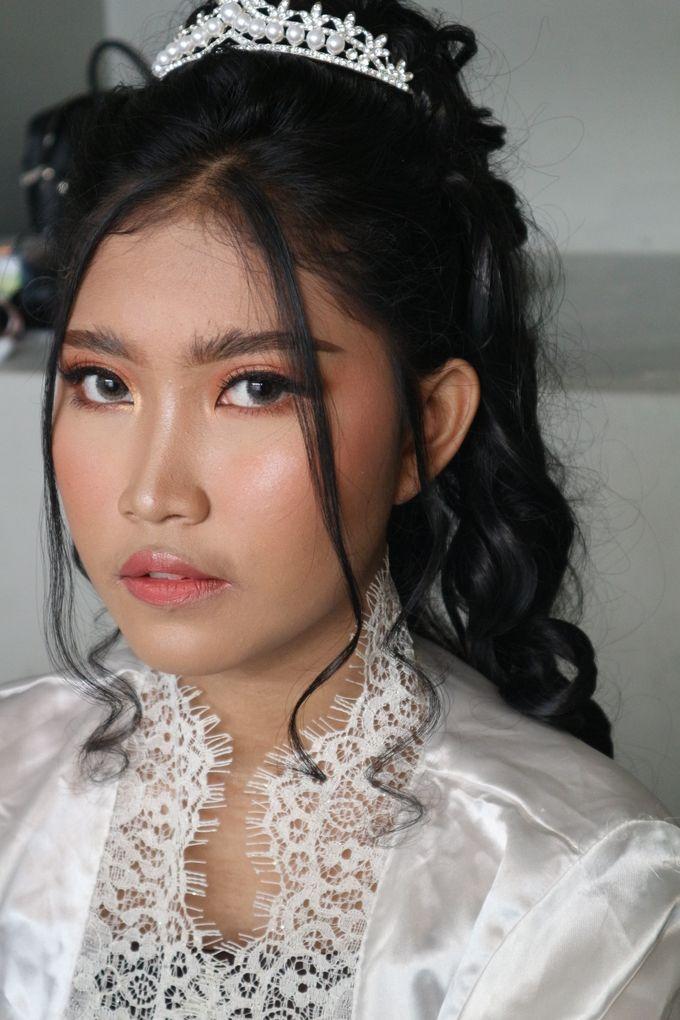 Holy Matrimony Wedding Makeup by Hana Gloria MUA - 006
