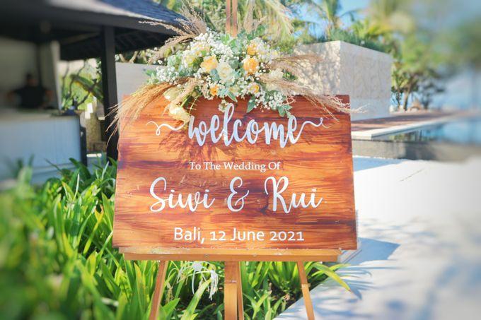 Wedding Siwi & Rui 12 June 2021 by Bali Bless Florist - 004