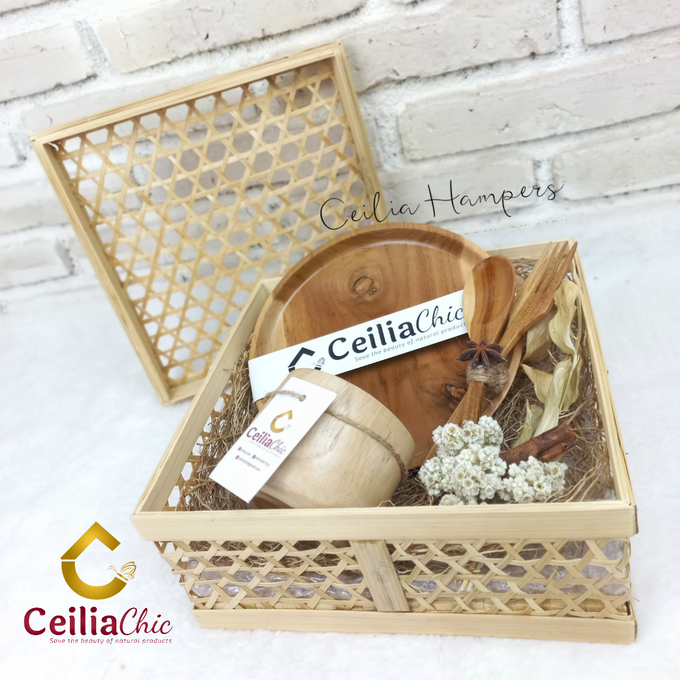 Silver Chrysanthemum Hampers by Ceiliachic - 003