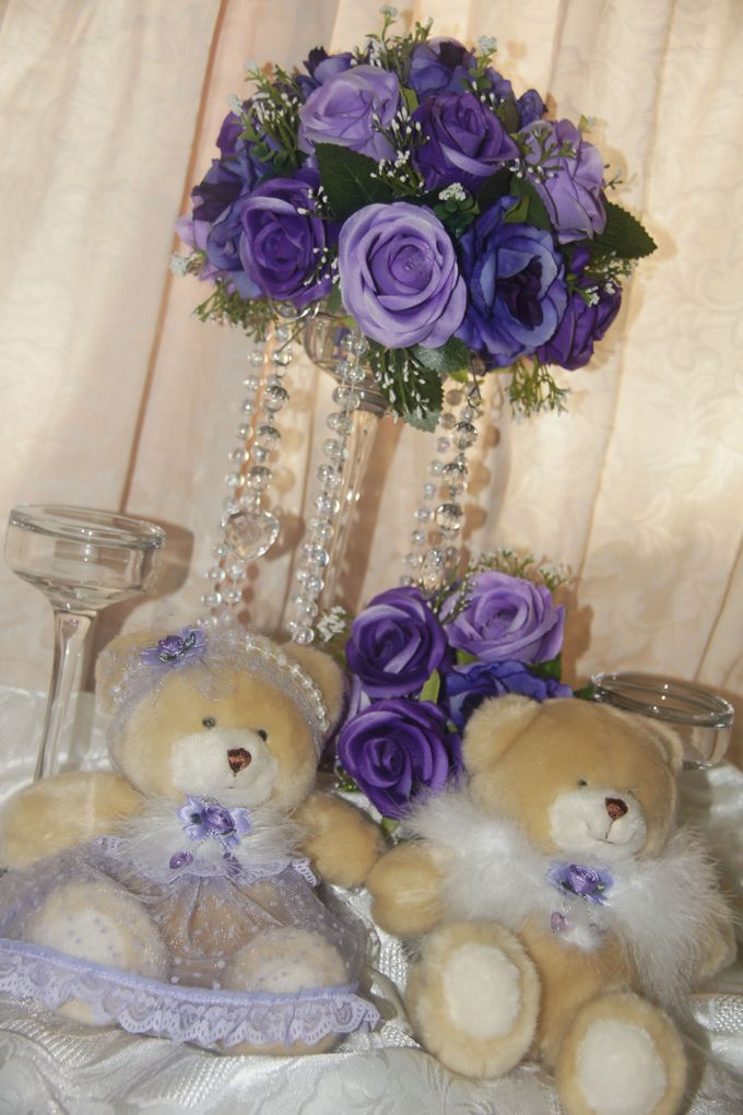 The Purple Dream Wedding by Candy Buffet Singapore - 012