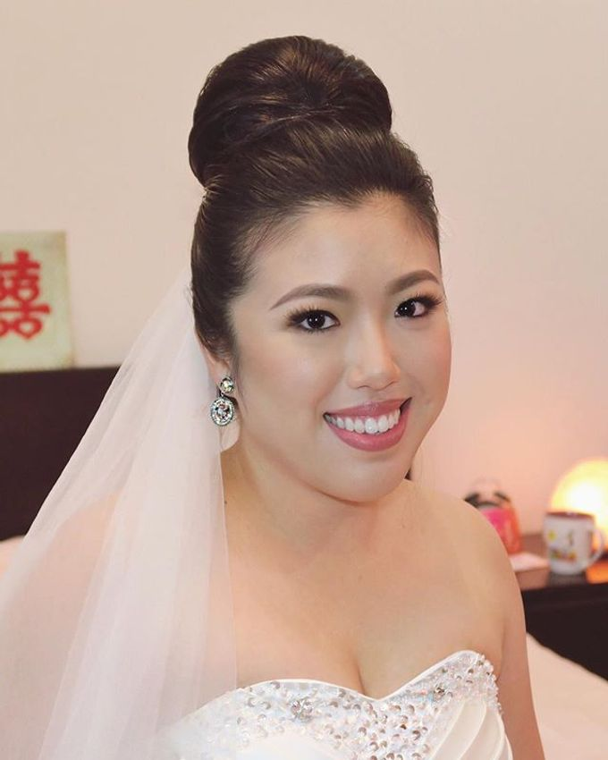 Bridal Services by Karen Then Makeup and Hair Styling - 009