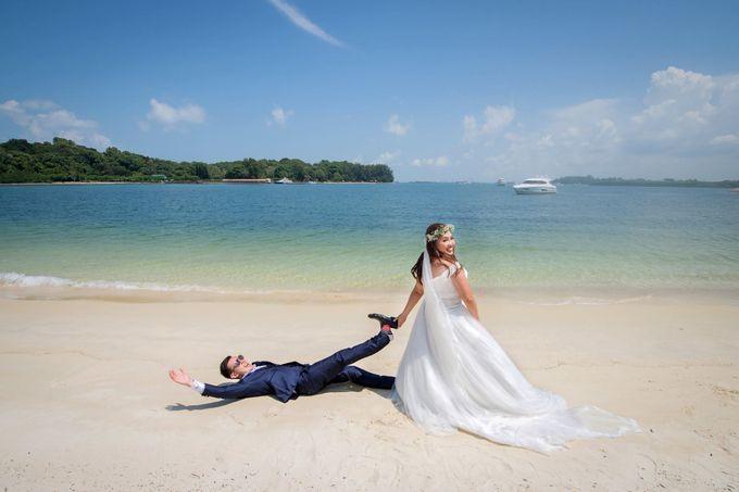 St John Island Lazarus Island Pre Wedding Shoot by GrizzyPix Photography - 001