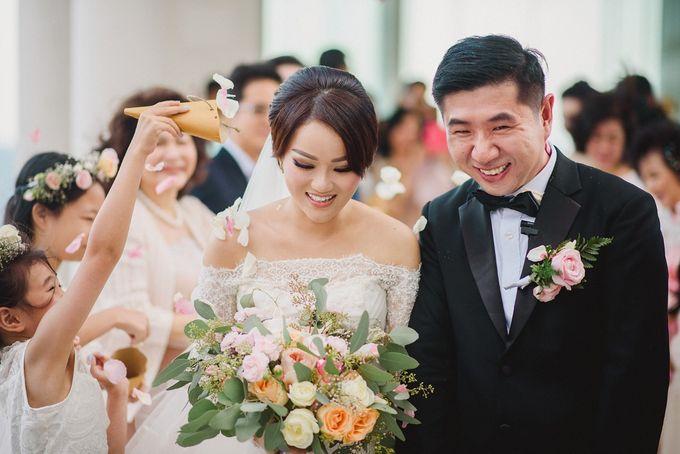 Wedding of Vina & Simon by Hilton Bali Resort - 010