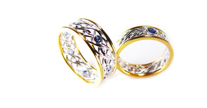 Wedding Bands by CW Jewels - 004