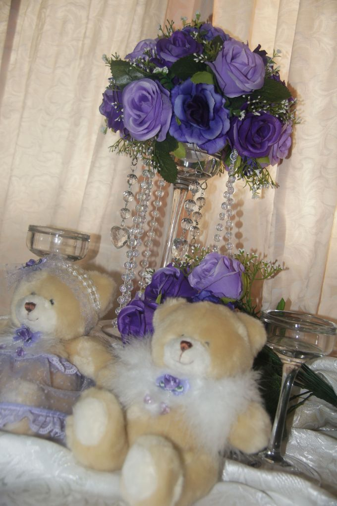 The Purple Dream Wedding by Candy Buffet Singapore - 013