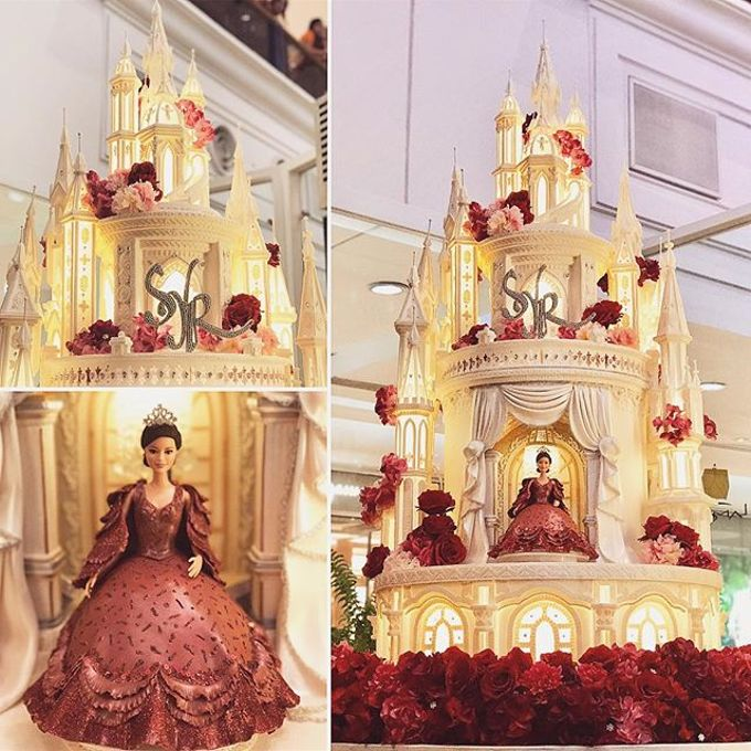 Masterpiece and Signature Wedding Cakes by LeNovelle Cake - 019